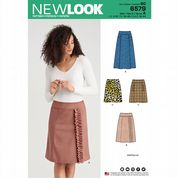 6579 New Look Pattern: Misses' Skirts